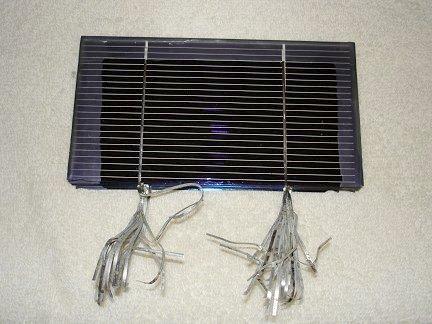 Приобретенные монокристаллические солнечные элементы имели размер 3х6 дюйма
