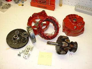 модернизировать генератор установкой постоянного магнита