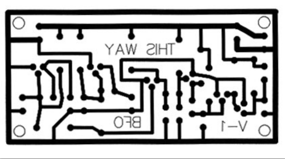 Дизайн платы металлоискателя